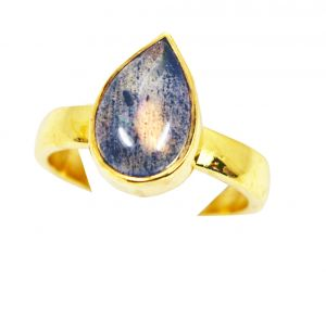 Buy Riyo Labradorite Gold Plated Jewelry Set Mothers Ring Sz 7 Gprlab7-42004 online