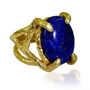 Buy Riyo Lapis Lazuli Gold Plated Online Purity Ring Jewelry Sz 7.5 Gprlla7.5-44020 online