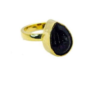 Buy Riyo Mystic Quartz Fine Gold Plated Regards Ring Jewelry Sz 6 Gprmqu6-54002 online