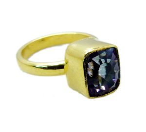 Buy Riyo Mystic Quartz 18kt Y Gold Plating Wedding Bands Sz 9 Gprmqu9-54008 online