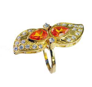 Buy Riyo Cz 18 Ct Y.g. Plated Purity Ring Jewelry Sz 9 Gprmucz9-116035 online
