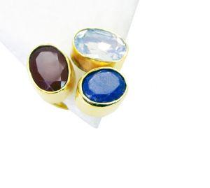 Buy Riyo Red Onyx 18.kt Gold Plated Claddagh Ring Sz 8 Gprmul8-53027 online