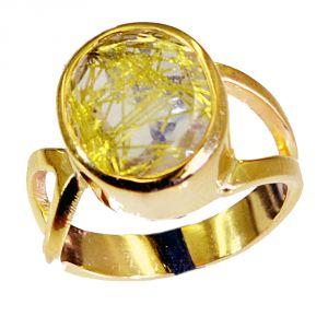 Buy Riyo Rutiled Quartz Cz Buy Gold Plated Jewelry Ring Sz 6 Gprrqcz6-106003 online