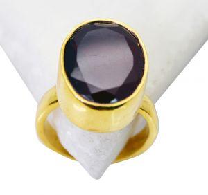 Buy Riyo Ruby Cz Gold Plate Jewelry Classic Day Rings Sz 5 Gprrucz5-104002 online