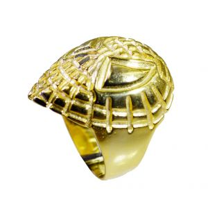 Buy Riyo A Plain 18kt Gold Plated Spider Ring Gprspi70-300002 online