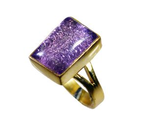 Buy Riyo Sunstone 18kt Gold Plating Mothers Ring Sz 5.5 Gprsun5.5-78026 online