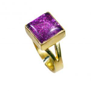 Buy Riyo Sunstone 18 Kt Y.g. Plated Engagement Ring Sz 6 Gprsun6-78022 online