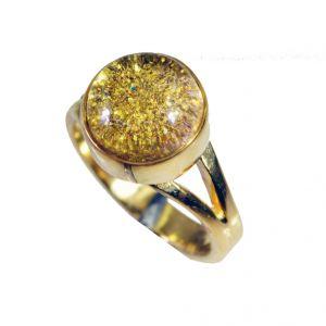Buy Riyo Sunstone Gold Plated Costume Purity Ring Jewelry Sz 6 Gprsun6-78040 online