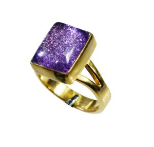 Buy Riyo Sunstone 18.kt Gold Plating Sports Ring Sz 7 Gprsun7-78032 online
