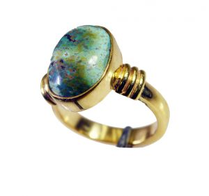 Buy Riyo Turquoise 18ct Ygold Plate Toe Ring Jewelry Sz 6.5 Gprtur6.5-82129 online