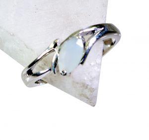 Buy Riyo Aqua Chalcedony Silver Jewelry Suppliers Class Ring Sz 8 Srach8-4008 online