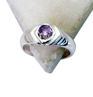 Buy Riyo Amethyst Victorian Silver Jewelry Silver Wrap Ring Sz 6 Srame6-2072 online