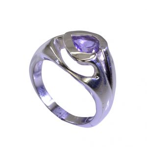 Buy Riyo Amethyst Silver Street Jewelry Silver Filigree Ring Sz 7 Srame7-2033 online