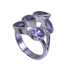 Buy Riyo Amethyst Silver Works Jewelry Silver Ring 925 Sz 7 Srame7-2044 online