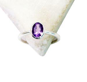 Buy Riyo Amethyst Wholesale Silver Usa Indian Jewellery Sz 7 Srame7-2093 online