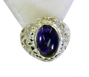 Buy Riyo Amethyst 92.5 Silver Jewellery Bridal Rings Jewelry Sz 7 Srame7-2111 online