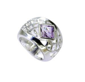 Buy Riyo Amethyst Silver Jewelry Wholesale Ring Sz 7 Srame7-2157 online