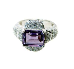 Buy Riyo Amethyst 925 Silver Jewelry Ring Jewellery Sz 8 Srame8-2114 online