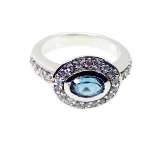Buy Riyo Blue Topaz Inspirational Silver Jewelry Gemstone Sz 5 Srbto5-10035 online