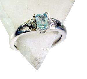 Buy Riyo Blue Topaz Online Silver Jewellery Gimmal Ring Sz 7 Srbto7-10059 online