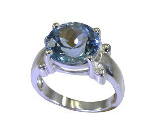 Buy Riyo A Blue Topaz 925 Solid Sterling Silver High Performance Ring Srbto80-10110 online