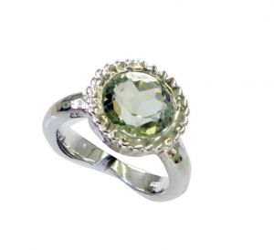 Buy Riyo Green Amethyst Silver Jewelry Websites Bridal Rings online