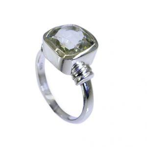 Buy Riyo Green Amethyst Silver Jewelry Discount Ring Sz 7 Srgam7-28026 online