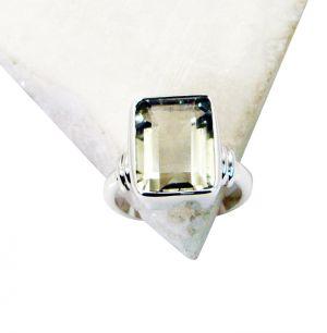 Buy Riyo Green Amethyst Silver s Classic Day Rings online