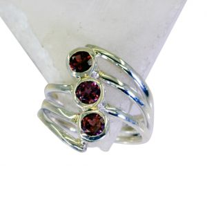 Buy Riyo Garnet Casting Silver Jewelry Wedding Ring Jewelry Sz 6 Srgar6-26131 online
