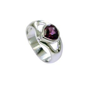Buy Riyo Garnet Modern Silver Jewellery Uk India Sz 6 Srgar6-26245 online