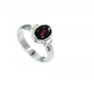 Buy Riyo Garnet New Silver Jewellery Gemstone Sz 6 Srgar6-26248 online