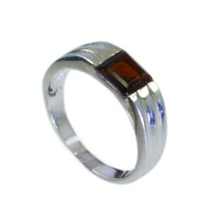 Buy Riyo Garnet Wholesale 925 Silver Wedding Ring Silver Sz 7 Srgar7-26063 online
