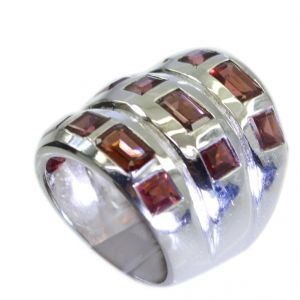Buy Riyo Garnet 925 Sterling Silver Aqiq Ring Jewelry Sz 7 Srgar7-26080 online
