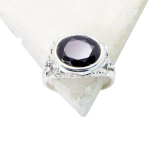 Buy Riyo Garnet Contemporary Cameo Ring Sz 7 Srgar7-26150 online