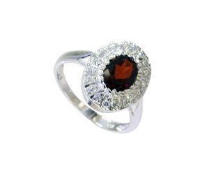 Buy Riyo Garnet Handmade Silver Jewelry Silver Ring Settings Sz 7 Srgar7-26214 online