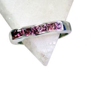 Buy Riyo Garnet Silver Jewelry Online Ring Sz 7.5 Srgar7.5-26138 online