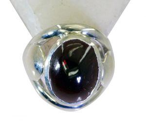 Buy Riyo Garnet Fashion Silver Jewellery Ring Silver 925 Sz 8 Srgar8-26183 online