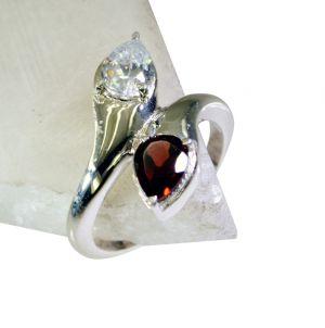 Buy Riyo Gemstone Silver Jewellery Set Silver Ring Setting Sz 5 Srmul5-52056 online