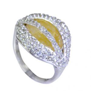 Buy Riyo Gemstone Silver Jewellery Jaipur Silver Ring Design Sz 6 Srmul6-52048 online