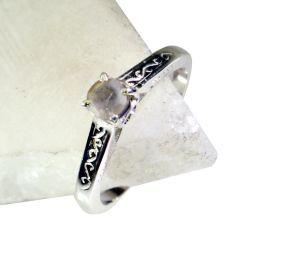 Buy Riyo Gemstone Silver Jewellery Designer Silver Engagement Ring Sz 7 Srmul7-52026 online