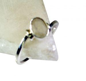 Buy Riyo Gemstone Silver Jewellery India Silver Mum Ring Sz 8 Srmul8-52039 online