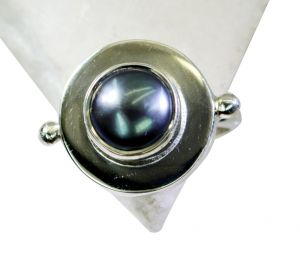 Buy Riyo Pearl Silver Jewellery Suppliers Silver Stack Ring Sz 8 Srpea8-56011 online