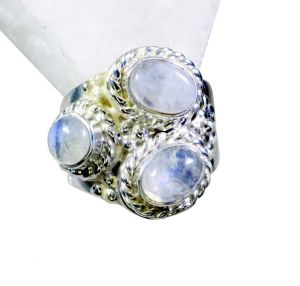Buy Riyo Rainbow Silver Jewelry Supplier Designer Ring Sz 5 Srrmo5-64001 online