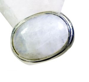 Buy Riyo Rainbow Silver Jewelry Supplies Aqiq Ring Sz 6 Srrmo6-64003 online