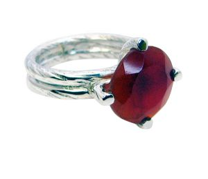 Buy Riyo Red Onyx Silver Jewelry Wholesale India Friendship Ring Sz 10 Srron10-66003 online