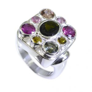 Buy Riyo Tourmaline Wholesale Silver Jewellery India Silver Ring Sale Sz 6 Srtou6-84024 online