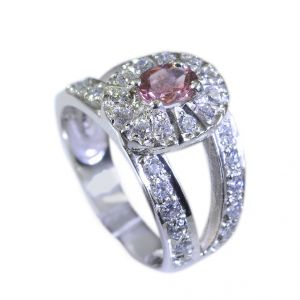 Buy Riyo Tourmaline 0.925 Solid Sterling Silver Silver Wrap Ring Sz 6 Srtou6-84041 online