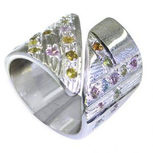 Buy Riyo Tourmaline 925 Silver Jewelry Wholesale Silver Ring Sz 6.5 Srtou6.5-84052 online