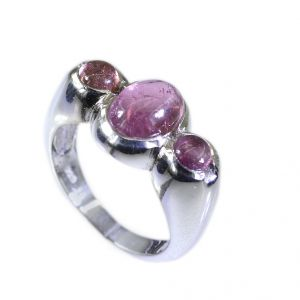 Buy Riyo Tourmaline 925e Silver Jewelry List Womens Silver Ring Sz 6.5 Srtou6.5-84053 online