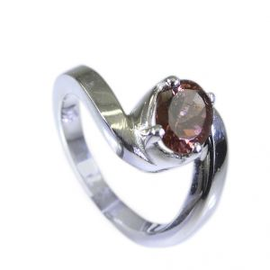 Buy Riyo Tourmaline Argent Silver Jewellery Ecclesiastical Ring Sz 6.5 Srtou6.5-84060 online